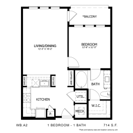 Floor Plan WB.A2