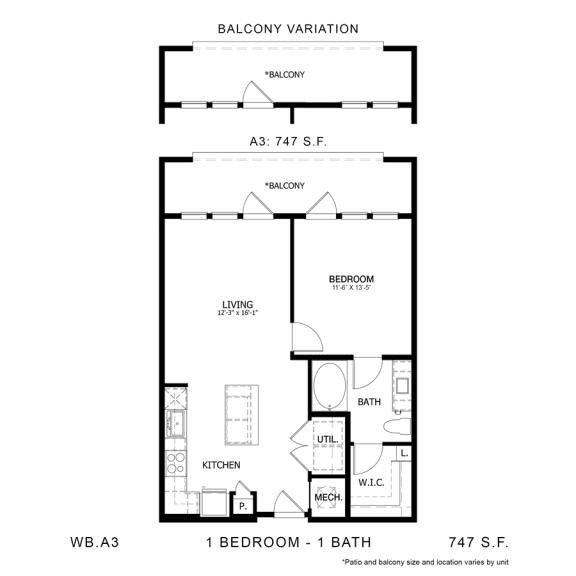 Floor Plan  WB.A3