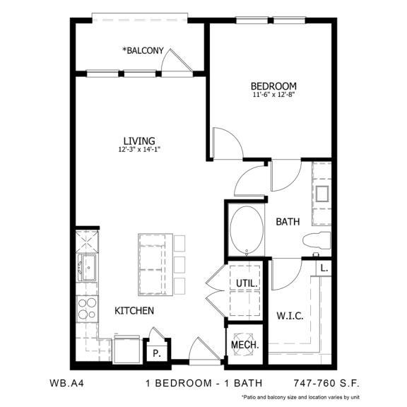 Floor Plan  WB.A4