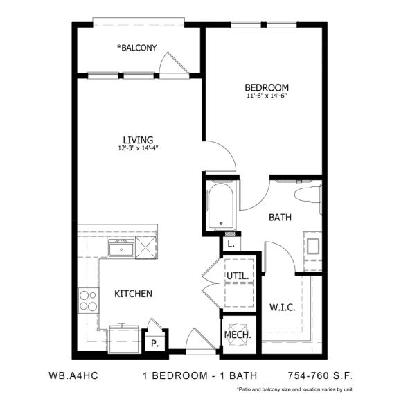 Floor Plan  WB.A4HC