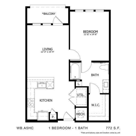 Floor Plan  WB.A5HC
