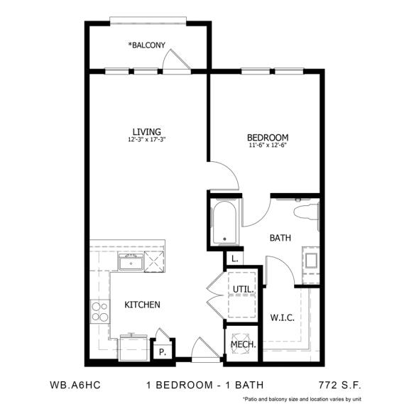 Floor Plan  WB.A6HC