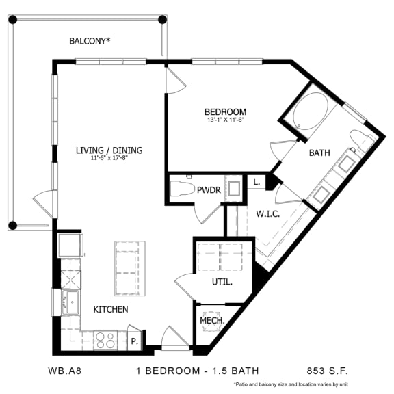Floor Plan  WB.A8