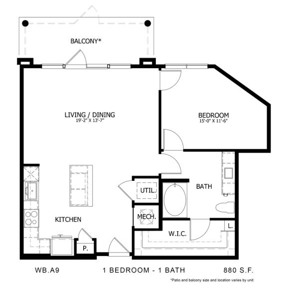 Floor Plan  WB.A9