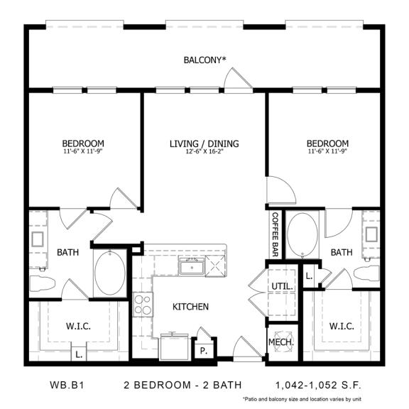 Floor Plan  WB.B1