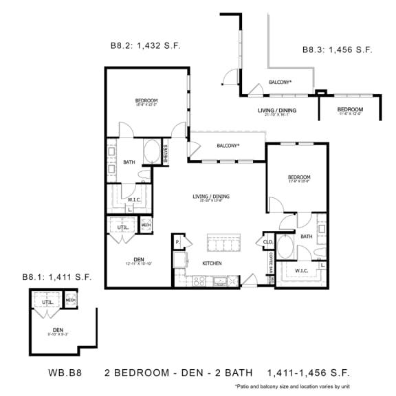Floor Plan  WB.B8