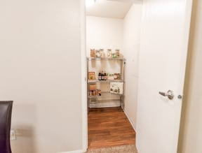 Everett Apartments - Tessera Apartments - Pantry and Dining Room