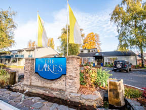 Fife Apartments - The Lakes at Fife Apartments - Sign