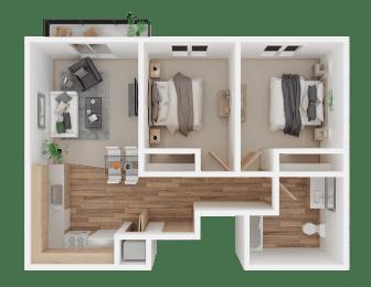 Two Bedroom Everett, WA l Vintage at Everett Apartments