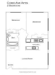 Como Lake Estates floor plan