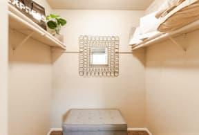 Everett Apartments - Tessera Apartments - Master Closet