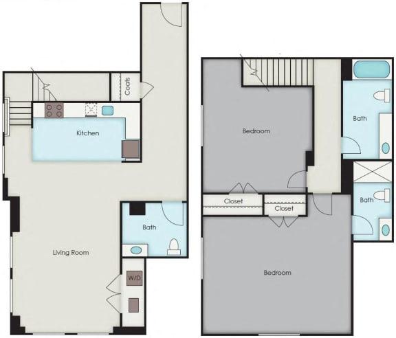 Floor Plan  First National Apartments - Barrow Plan