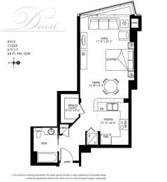 Floor Plan  Met Tower Apartments Dossi U Floor Plans