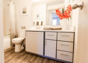 Tacoma Apartments - The Lodge at Madrona Apartments - Bathroom