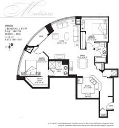 Met Tower Apartments Matisse U Floor Plans