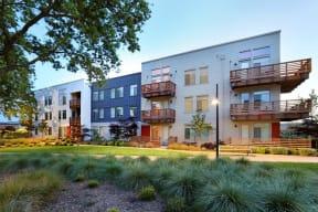 Annadel Apartments l  Building View Santa Rosa Living