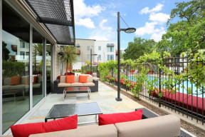 Annadel Apartments l  Outdoor Lounges