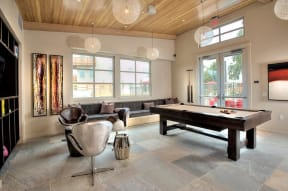 Santa Rosa CA Apartments For Rent Annadel  l  Game Room