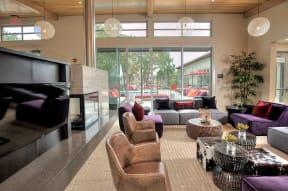 Santa Rosa Apartments For Rent Annadel  l  Media Lounge