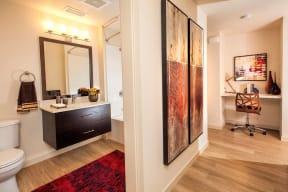 Bathroom Annadel Apartments homes For Rent in Aanta Rosa Ca 95401