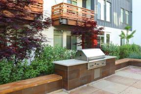 Santa Rosa California  Apartments For Rent Annadel  l BBQ Grills