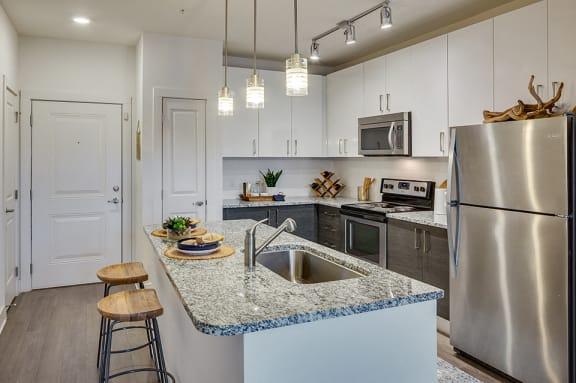 The Brooklyn Riverside_ Model Kitchen