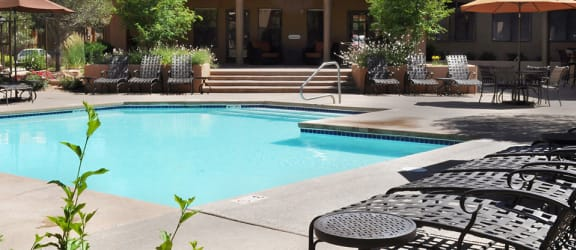 Two Swimming Pools with Sun Decks