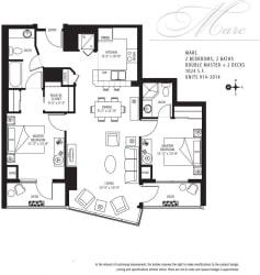 Met Tower Apartments Marc U Floor Plans