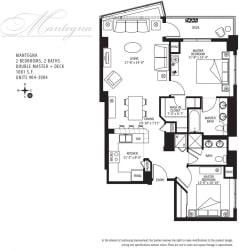 Met Tower Apartments Mantegna U Floor Plans