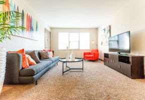 Seattle Apartments - Cadence Apartments - Living Room