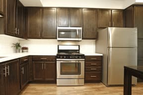 Apartments El Cerrito-Metro 510 Kitchen with Stainless Steel Appliances and Tons of Counter Space