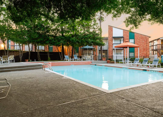 Invigorating Swimming Pool at The Daphne Apartments, The Barvin Group, Texas