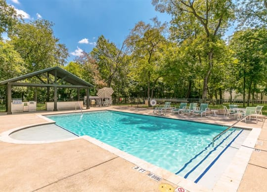 Invigorating Swimming Pool at The Grove at White Oak Apartments, The Barvin Group, Houston