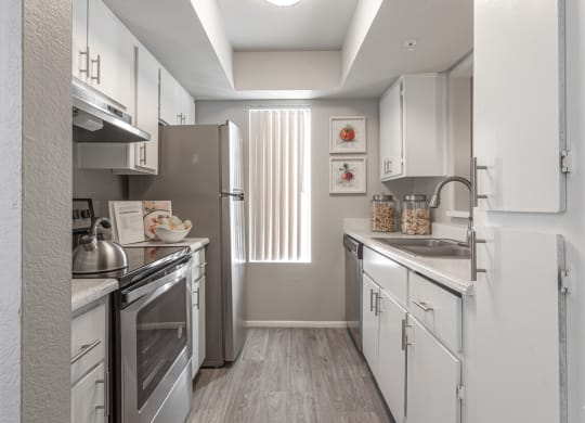 Upgraded Kitchen with Stainless Steel Package