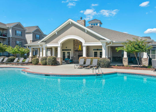 Amelia Station Apartments in Clayton NC Pool