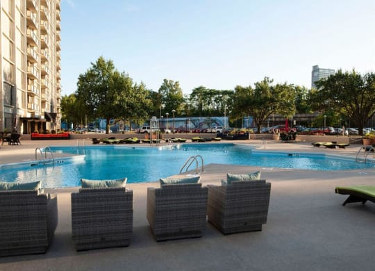 Pool Three Rivers Apartments in Ft Wayne IN 2