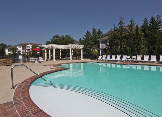 Pool at The Orchard Apartments in Dublin OH