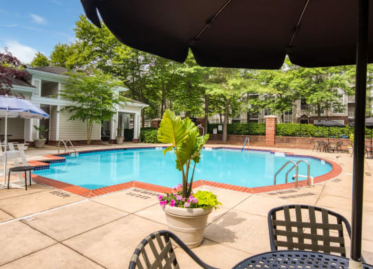 Pool at Beacon Place Apartments in Gaithersburg MD