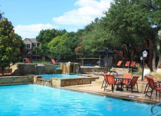 Pool at Sierra Park, Dallas, 75228