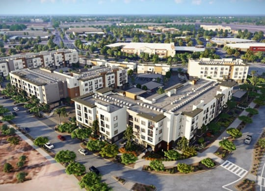 Aerial Exterior View Of Property at Kalon Luxury Apartments, P.B. BELL Assets, Phoenix, 85085