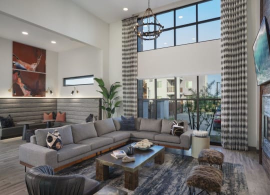 Large Community Clubhouse at Grayson Place Apartments, P.B. BELL Assets Management, Goodyear, 85395
