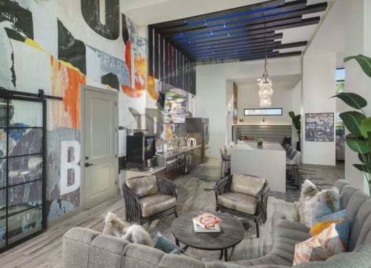 Coffee Bar Lounge at Grayson Place Apartments, P.B. BELL Assets Management, Arizona, 85395