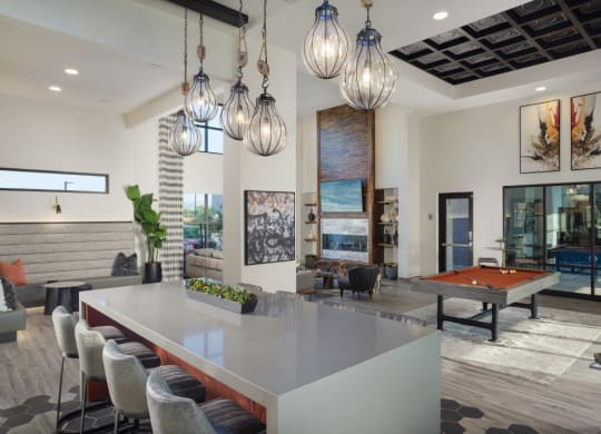Multiactivity Clubhouse at Grayson Place Apartments, P.B. BELL Assets Management, Arizona