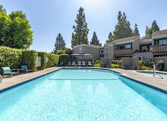 Private Swimming Pool at 1750 On First, Simi Valley, California