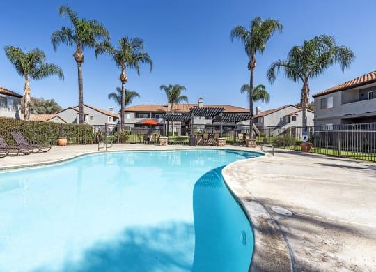 Invigorating Swimming Pool at Sedona Apartment Homes, Moreno Valley, CA