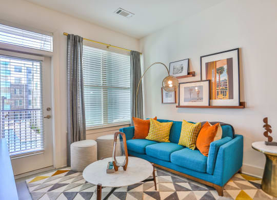 Luxurious Living Space at Link Apartments® Montford, Charlotte, NC