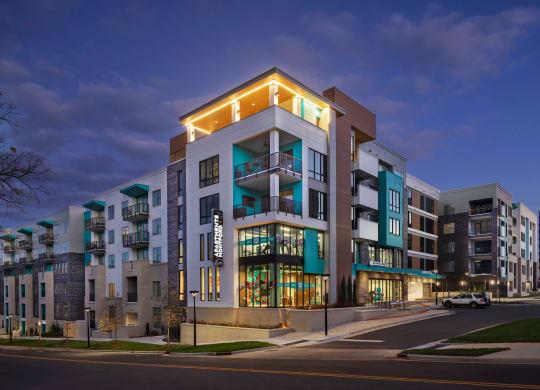 Elegant Exterior View Of Property at Link Apartments® Montford, Charlotte, North Carolina