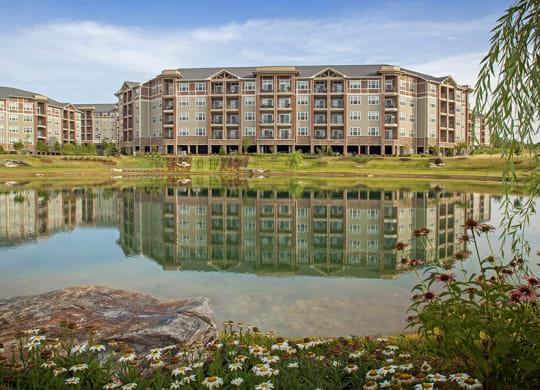 Exteriors Lake Views at LangTree Lake Norman Apartments, Mooresville, NC