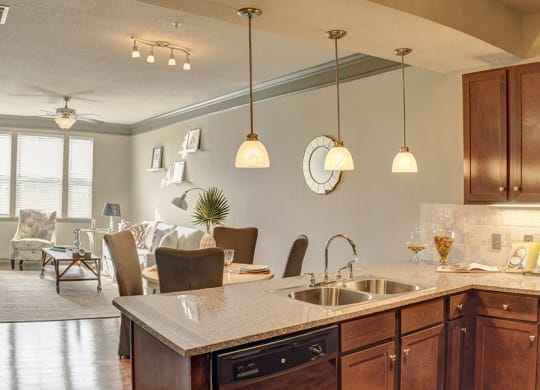 Interiors at LangTree Lake Norman Apartments, Mooresville