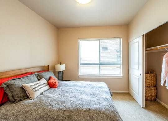 Comfortable Bedroom With Large Window at The Corydon, Washington, 98105